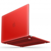Чехол Crystal Case для Apple Macbook Air 11,6/13,3 и Pro 13,3/15,4 Красный