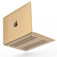 Чехол для Macbook Air 11,6/13,3 и Pro 13,3/15,4 Luxury Gold Hard