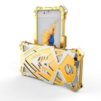 Чехол for iPhone 7/8 Luxury Metal Simon Gold