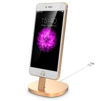 Подставка USAMS Gold Charger Dock for iPhone