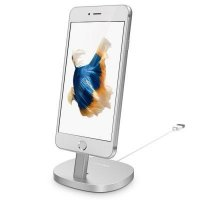 Подставка USAMS Silver Charger Dock for iPhone
