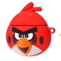 Чехол Angry Birds Case для AirPods Red