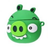 Чехол Angry Birds Case для AirPods Green