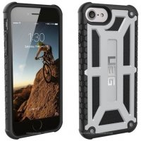 Чехол UAG Monarch Platinum для iPhone 7/8 Silver
