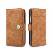 Чехол книжка для iPhone X/XS Brown