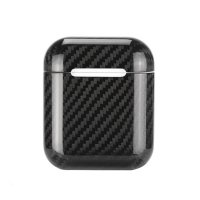 Чехол AirPods Case Apple Carbon Fiber Case Black