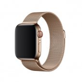 Браслет Apple Watch 38/40/42/44mm Milanese Loop (magnetic) New Gold