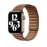 Ремешок для Apple Watch 42/44mm Leather Link Brown