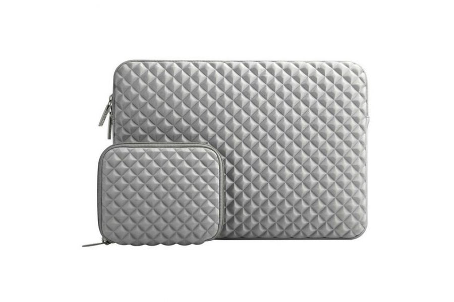 Чехол Mosiso Lycra Soft Sleeve for MacBook Air 13 / Pro 13 Grey