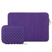 Чехол Mosiso Lycra Soft Sleeve for MacBook Air 13 / Pro 13 Purple