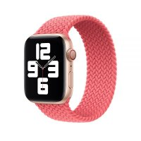 Ремешок для Apple Watch 42/44mm Braided Solo Loop Pink