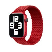 Ремешок для Apple Watch 42/44mm Braided Solo Loop (Product) Red