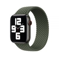 Ремешок для Apple Watch 42/44mm Braided Solo Loop Green