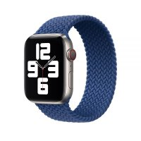 Ремешок для Apple Watch 42/44mm Braided Solo Loop Blue