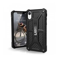 Чехол UAG Monarch Case для iPhone Xr Carbon Fiber